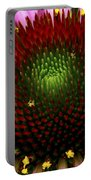 Coneflower - Little Yellow Spider Portable Battery Charger