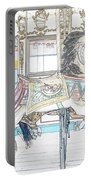Coney Island Carousel Portable Battery Charger