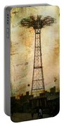 Coney Island Eiffel Tower Portable Battery Charger