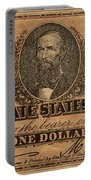 Confederate Dollar Bill Portable Battery Charger