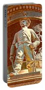 Confederate Soldier Statue I Alabama State Capitol Portable Battery Charger