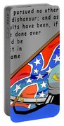Confederate States Of America Robert E Lee Portable Battery Charger by Digital Creation