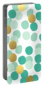 Confetti 2- Abstract Art Portable Battery Charger