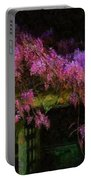Confetti Of Blossoms Portable Battery Charger