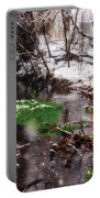 Confused Spring Or Winter Portable Battery Charger