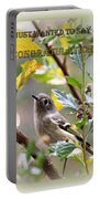 Congratulations - Kinglet Portable Battery Charger