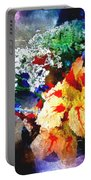 Conjuring Claude Monet Portable Battery Charger
