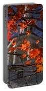 Connecticut Fall Colors Portable Battery Charger by Jeff Folger