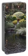 Conservatory In Autumn Portable Battery Charger