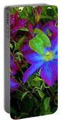 Constance's Clematis Portable Battery Charger