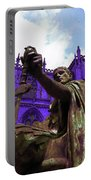 Constantine The Emperor At Yorkminster Portable Battery Charger