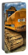 Construction Excavator In Hdr 1 Portable Battery Charger