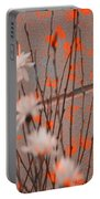 Contemporary Art - Butterfly Kisses - Luther Fine Art Portable Battery Charger