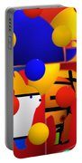 Contemporary Art Portable Battery Charger