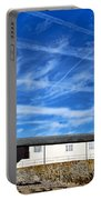 Contrails Over The Cobb Portable Battery Charger