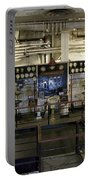 Control Board Engine Room Queen Mary Ocean Liner Long Beach Ca Portable Battery Charger