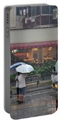 Conversation In The Rain Portable Battery Charger