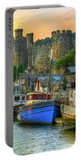 Conwy Castle And Harbour Portable Battery Charger