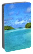 Cook Islands Lagoon Portable Battery Charger