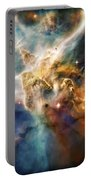 Cool Carina Nebula Pillar 4 Portable Battery Charger by Jennifer Rondinelli Reilly - Fine Art Photography