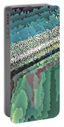 Cool Colors Abstraction Portable Battery Charger