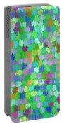 Cool Green Splash Art Portable Battery Charger