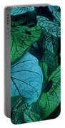 Cool Leafy Green Portable Battery Charger