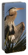 Great Blue Heron Air Conditioning Portable Battery Charger