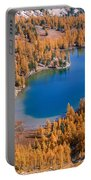 Cooney Lake Larches Portable Battery Charger