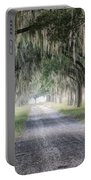 Coosaw Fog Avenue Of Oaks Portable Battery Charger
