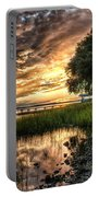 Coosaw Plantation Sunset Portable Battery Charger