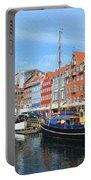 Copenhagen Denmark Nyhavn District Portable Battery Charger