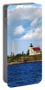 Copper Harbor Lighthouse Portable Battery Charger