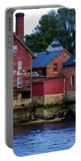 Copper Paint Building Portable Battery Charger