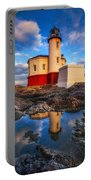 Coquille Lighthouse Portable Battery Charger by Darren  White