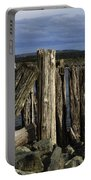 Coquille Lighthouse Oregon 3 Portable Battery Charger