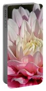 Coral Dahlia Portable Battery Charger