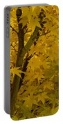 Coral Maple Fall Color Portable Battery Charger