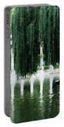 Corinthian Colonnade And Pond Portable Battery Charger