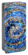 Coriolis 4 Portable Battery Charger by Regina Valluzzi