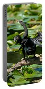 Cormorant And Turtle Portable Battery Charger