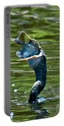 Cormorant With Catch Portable Battery Charger