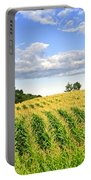 Corn Field Portable Battery Charger