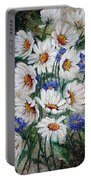 Corn Flowers Portable Battery Charger
