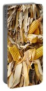 Corn Shock - Sign Of Autumn Portable Battery Charger