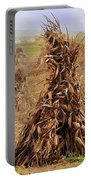 Corn Stalk Bales Portable Battery Charger