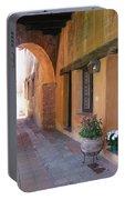 Corner Arch, Mission San Juan Capistrano, California Portable Battery Charger