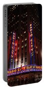 Corner Of Radio City Music Hall Portable Battery Charger