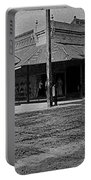 Corner Of Stone And W. Congress Street 180 Degrees Panorama Tucson Arizona C.1905 Portable Battery Charger