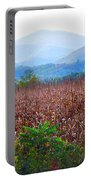 Cornfield In The Mountains Portable Battery Charger